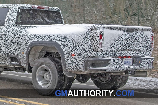 2020 GMC Sierra HD Dually Revealed In Latest Spy Shots