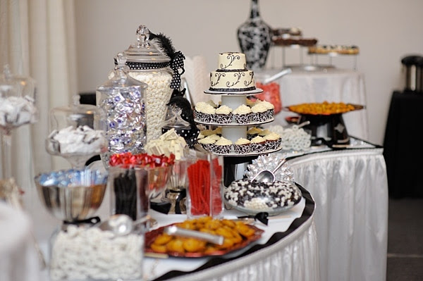 candy buffet decoration food layout table decoration ideas