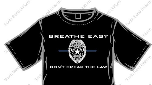 This Cop Could Not Have Made a Stupider Fucking T-Shirt