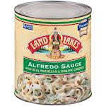Land O Lakes Alfredo Sauce, 10 Cans - 6 Per Case