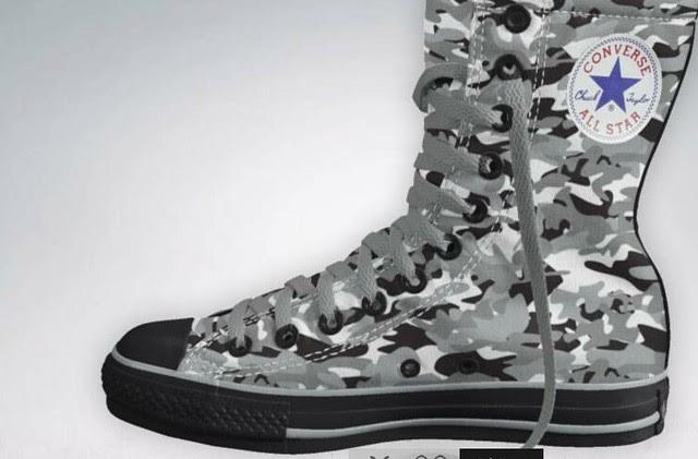Converse® presents The Trent Rock Limited Edition Tactical Chucks™ 2.012