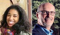 Raisa Johnson and Michael Bodaken