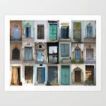 Art Print | India - Doors Of India by Shana's Shop - Large - Society6