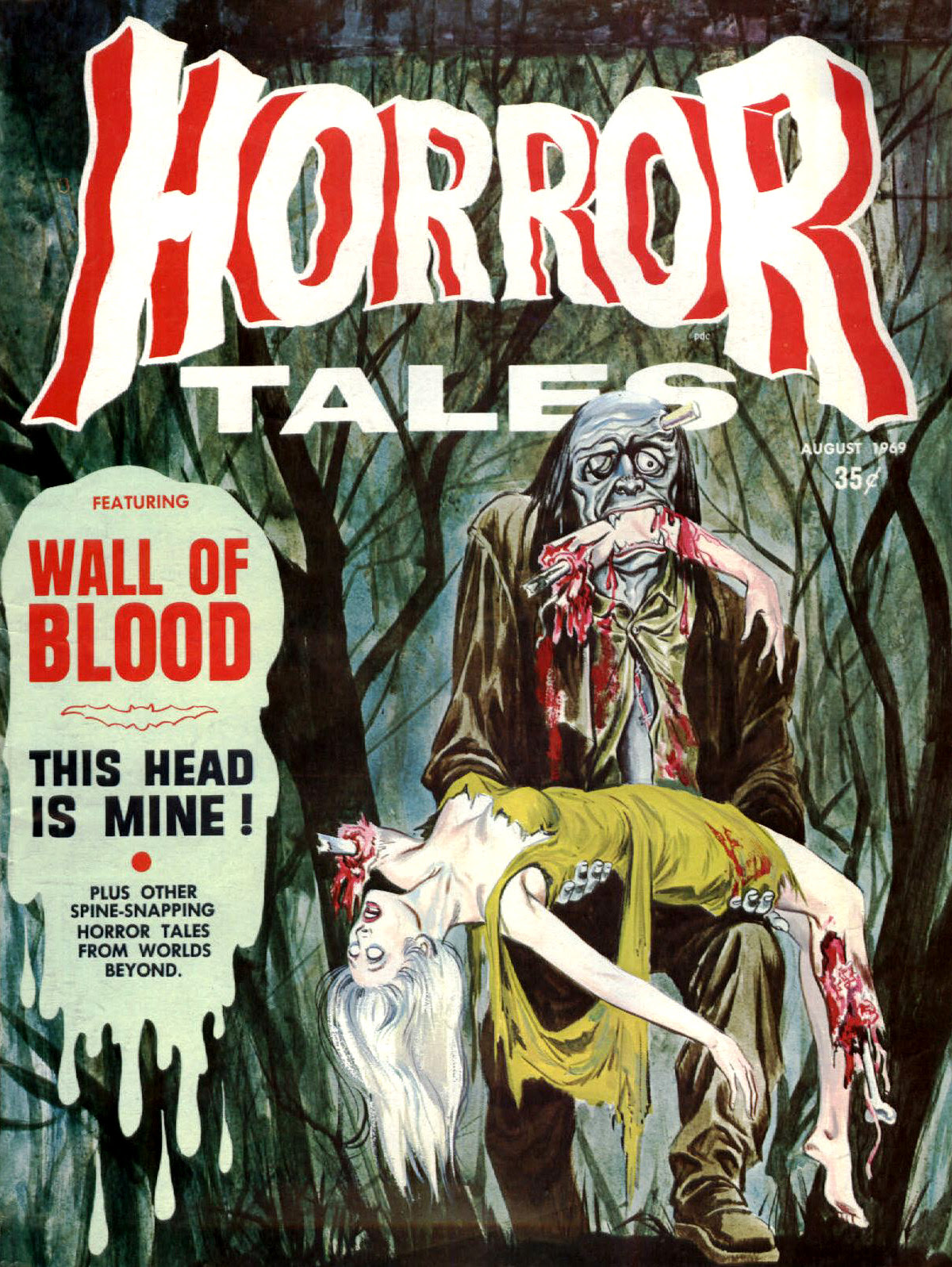 Horror Tales - Vol. 1 #8 (Eerie Publications, 1969)