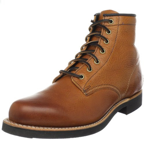 FRYE Men's Arkansas Mid Lace Boot Cognac 7 M US