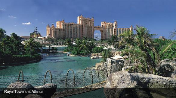 Atlantis Resort in Paradise Island, Bahamas