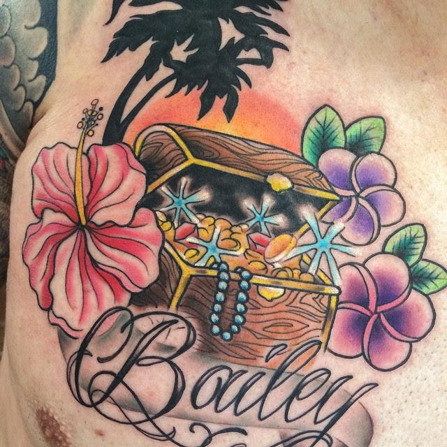 Hawaiian Flower Tattoo Drawings Flowers Healthy