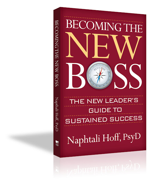 Becoming the New Boss – A Book Review