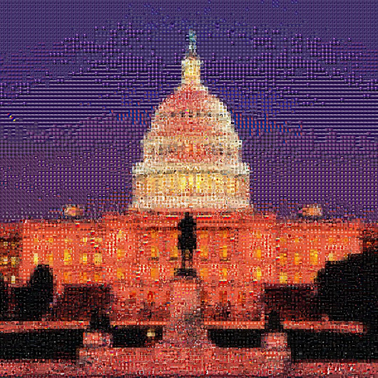 "Photo Tile Mosaic at TileArray: ""Our Nation"" by The American People"