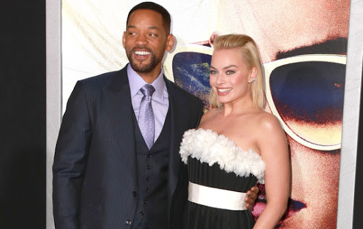 Margot Robbie Helped 'Focus' Co-Star Will Smith Learn to Swim