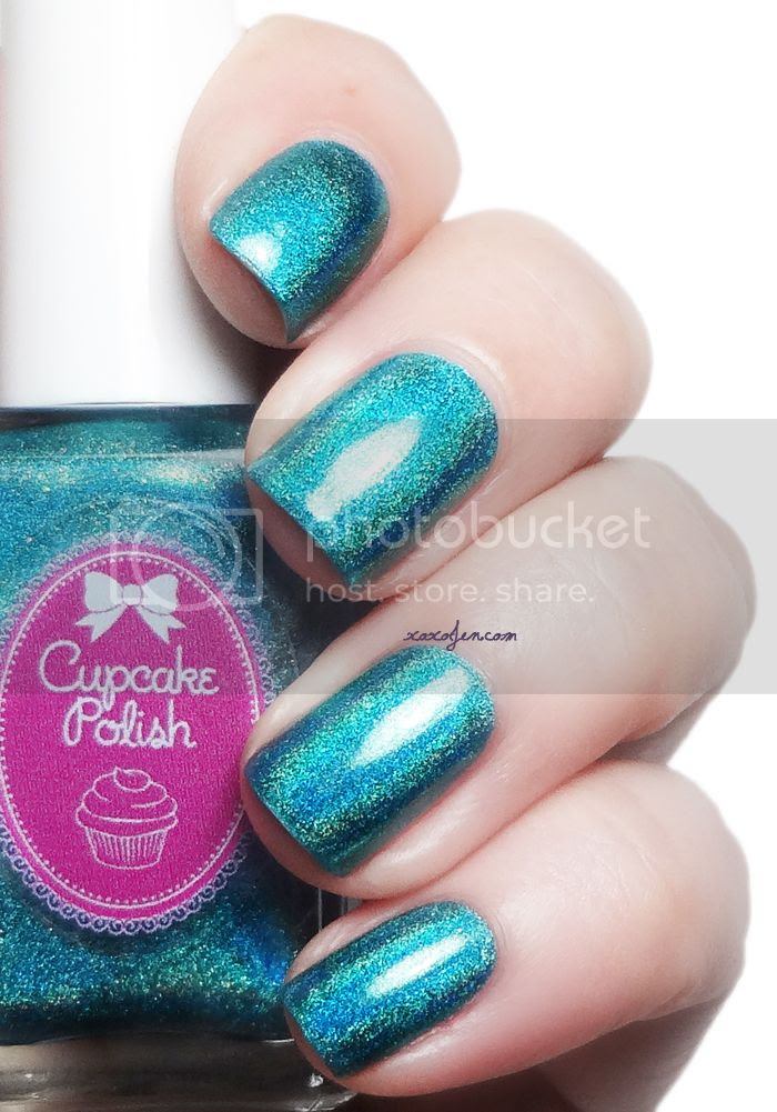 xoxoJen's swatch of Cupcake Polish Topsy Turvy