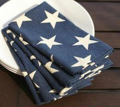 The Perfect 4th of July Tablescape American Flag Napkins Tori Spelling