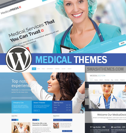 25+ Best WordPress Medical Themes 2014