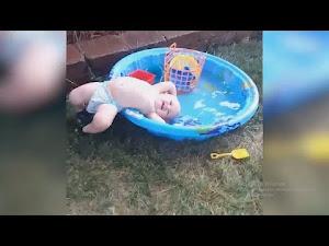 Caídas graciosas bebes