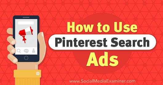 How to Use Pinterest Search Ads : Social Media Examiner