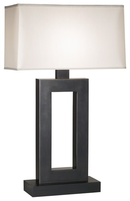 Contemporary Jerry Bronze Table Lamp - contemporary - table lamps ...
