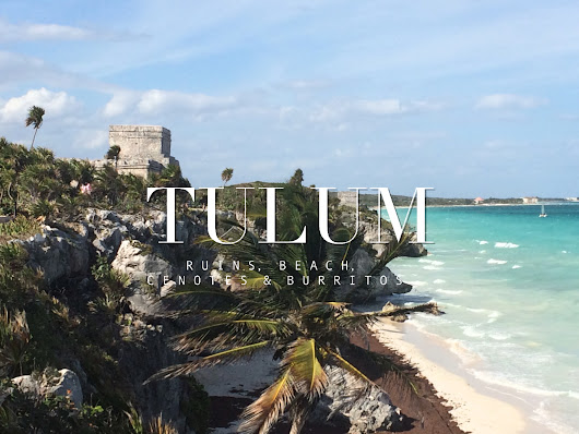 The trendy town of Tulum