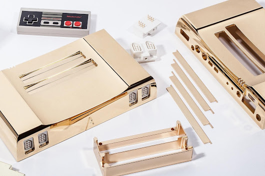 This 24-karat gold Nintendo Entertainment System can be yours for only $5,000