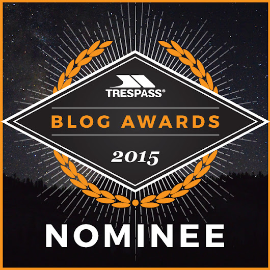 Trespass Blog Awards - Baby Routes is shortlisted! - Baby Routes