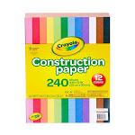 Crayola 240 Count Construction Paper