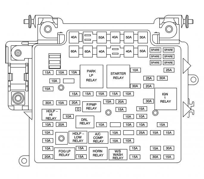 1978 Chevy Truck Fuse Box Diagram / Chevrolet Silverado