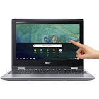Acer Spin 11 CP311-1H-C1FS 11.6″ Convertible Chromebook - Celeron N3350 1.1 GHz - 4 GB RAM - 32 GB SSD - Sparkly Silver