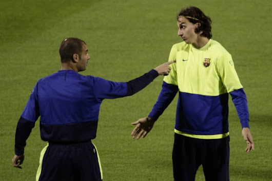 "Ibrahimovic refers to Messi and Co. as...""SCHOOL BOYS"""