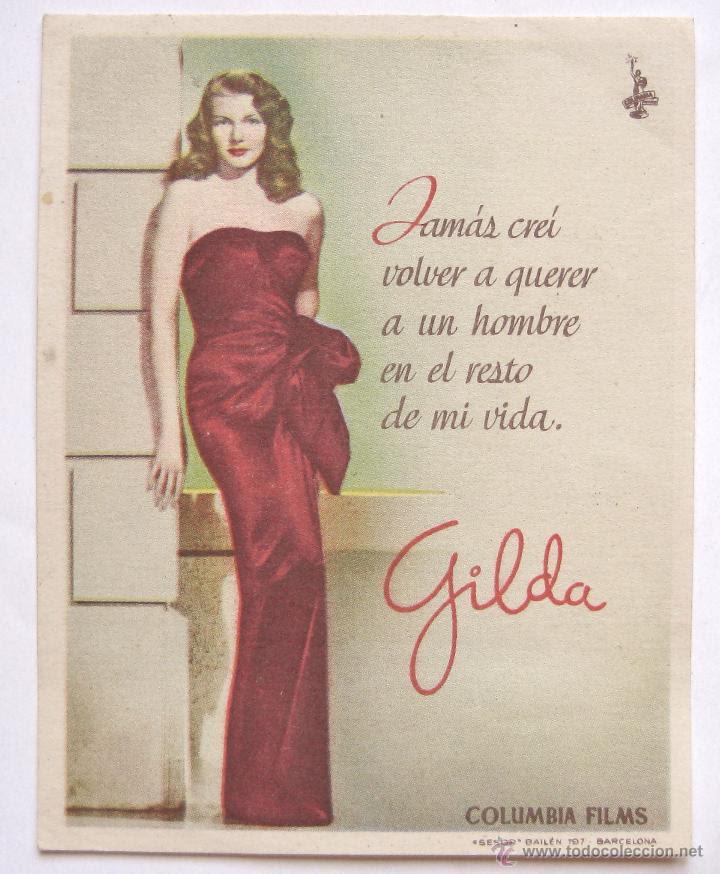 Resultado de imagen de frases de la película Gilda