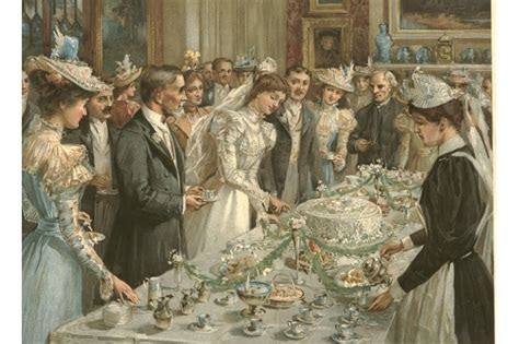 Victorian wedding ceremony positions/roles