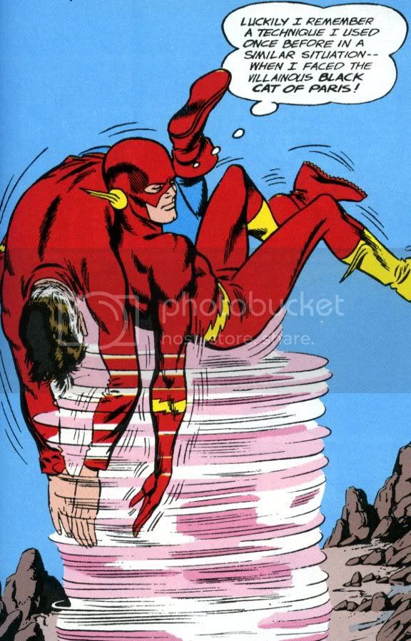 from DC Comics Classics Library: The Flash of Two Worlds