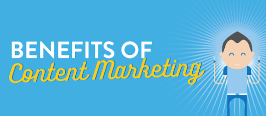 Marketing Infographic - The Benefits of Content Marketing