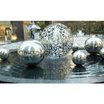 18 inch Mirror Finished Stainless Steel Shiny Ball