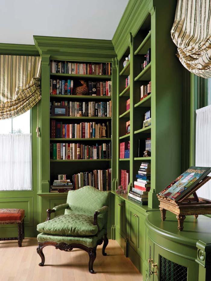 biblioteca em casa mini