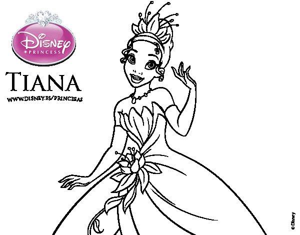 Dibujos De La Princesa Y El Sapo Para Colorear Imagui