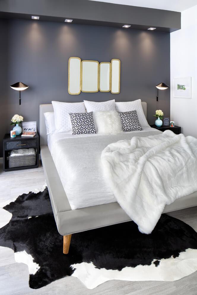 20 Classic And Elegant Black And White Bedroom Design Ideas