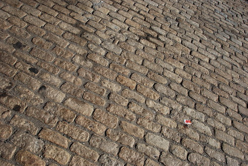 Granite-Block Paving