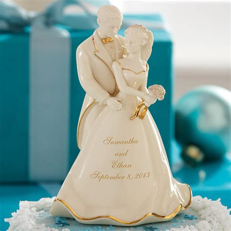 Our Wedding Day Bride & Groom Cake Topper by Lenox