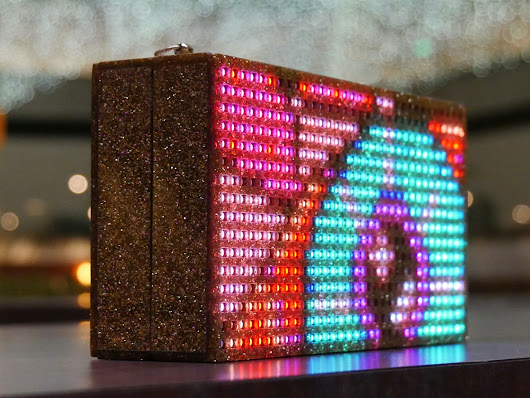 C.A.T Clutch - The Ultimate LED Bag by C.A.T - Creative Arts & Technology — Kickstarter