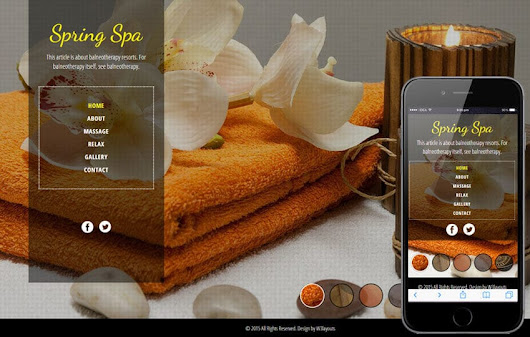 Spa Salon a Beauty and Spa Category Flat Bootstrap Responsive Web Template by w3layouts