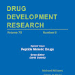 Drug Development Research - Volume 78, Issue 6 - Peptide Mimetic Drugs - Wiley Online Library