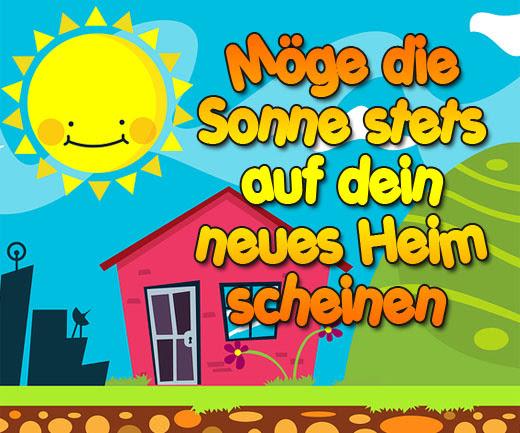 Viel Glück Zum Neuen Zuhause Wünschen