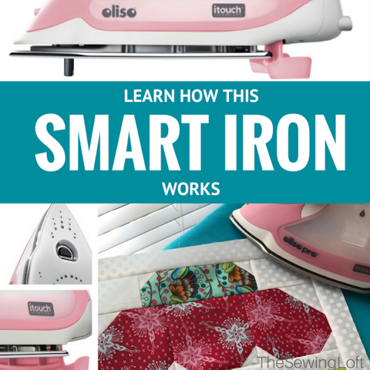 Oliso Pro Smart Iron Review + Giveaway - The Sewing Loft