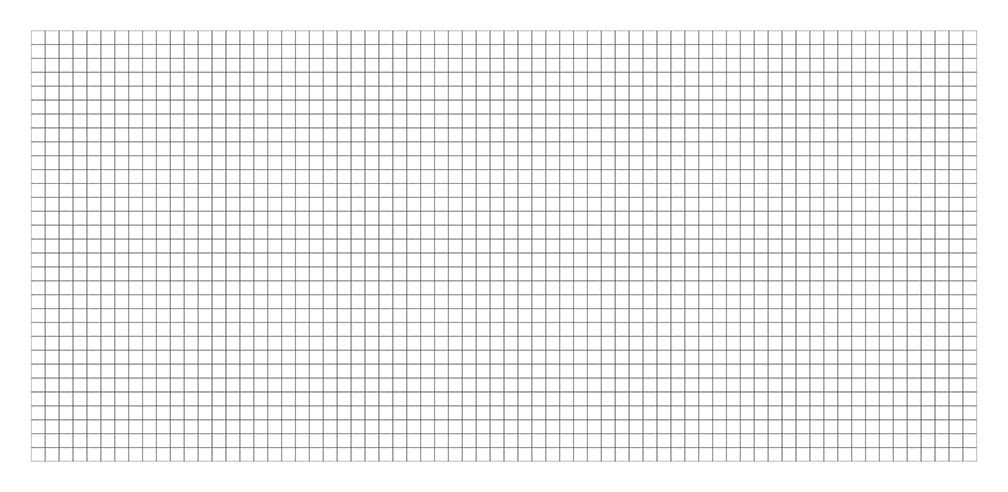 Camelot Games. Blank Grid Map 36x72 Double Sided