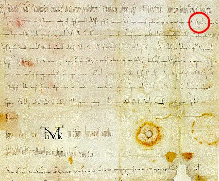 age old document for Austria