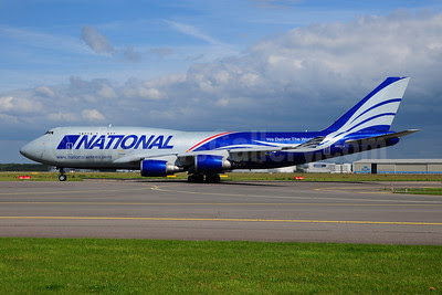 National Airlines (5th) Boeing 747-428 (BCF) N952CA (msn 25238) AMS (Ton Jochems). Image: 908593.