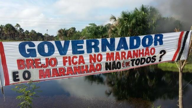 População de Brejo-MA cobra ações do Governo Flávio Dino