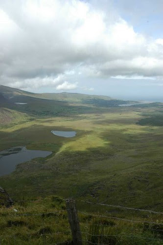 The Connor Pass on our way to Dingle