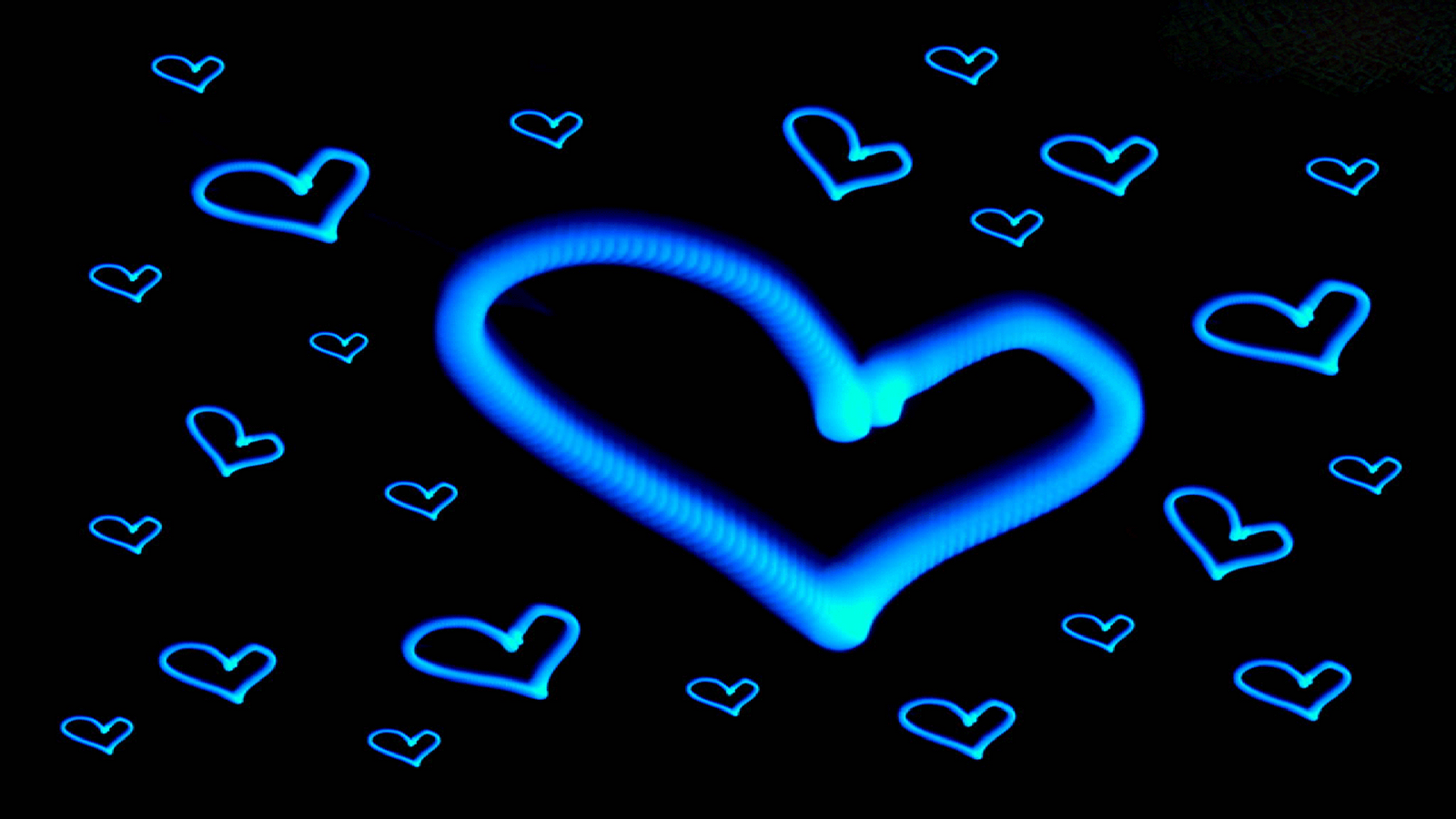 Best Fondos De Pantalla Hd Corazones Azules Image Collection