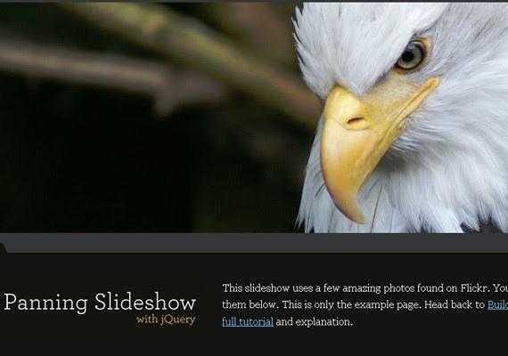 panning slideshow 20+ Efectos de jQuery brillantes