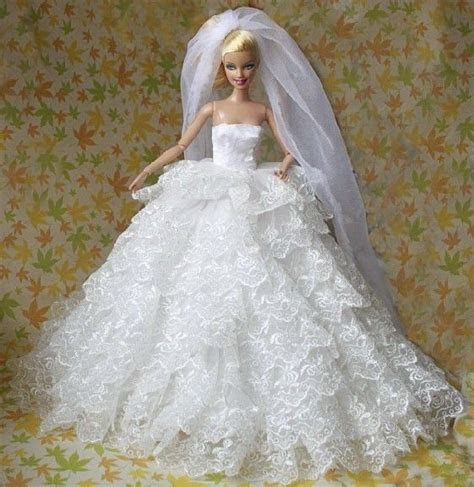 25  best ideas about Barbie Wedding Dress on Pinterest